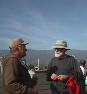 Michael and Patrick in Santa Barbara.