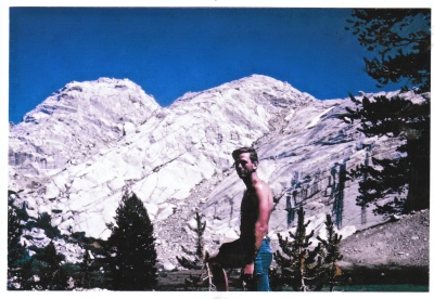 Dennis in the Sierras.