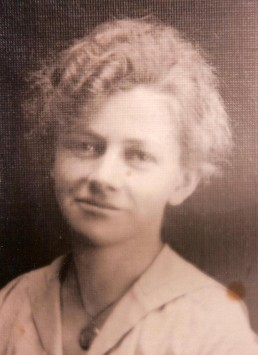 My grandma Mimi when she was about 50, I'm guessing. I was the last grandchild, and she was sooooo old when I was 10.