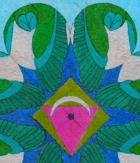 web OWL MANDALA 2 COLORED PAPER DTL
