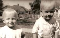 Mike was Stephen's little boy!