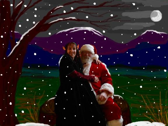Santa & Elf